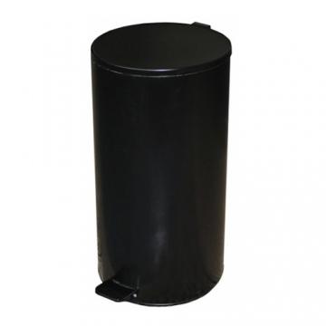 Урна с педалью (40 л) Черная, серая, белая