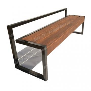 Скамейка со спинкой ТМБ6