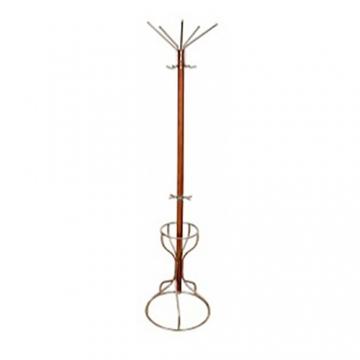 Вешалка напольная Стелла-2Д (вишня) деревянная